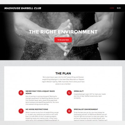 Madhouse Barbell Club Website